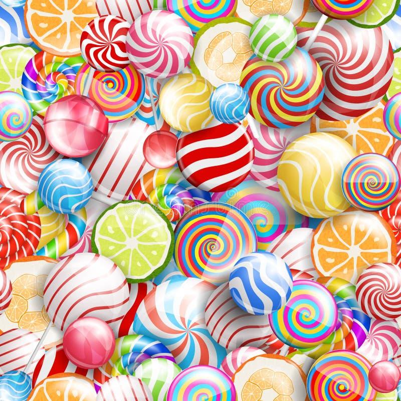 lollipops ilustração do vetor