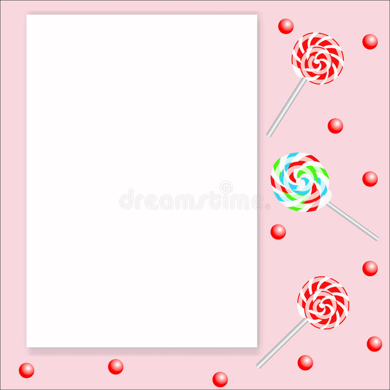 lollipops vector illustratie