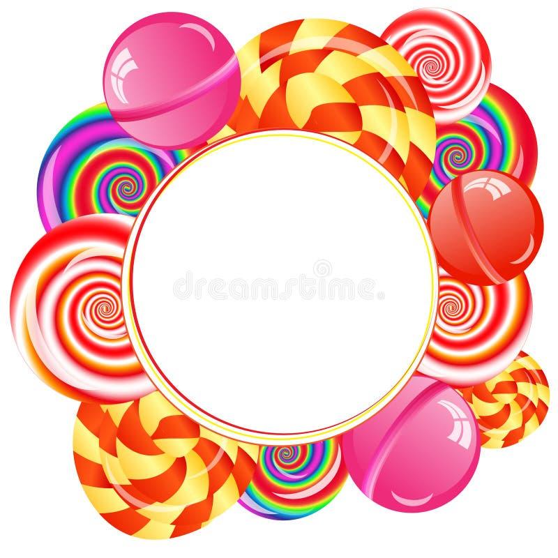 Download Lollipops background stock illustration. Illustration of lolly - 38497956