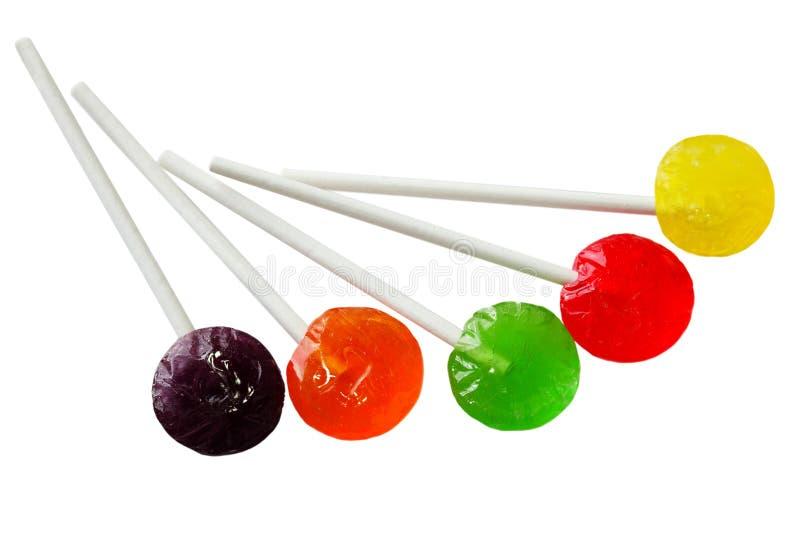 Lollipops do otário imagem de stock royalty free