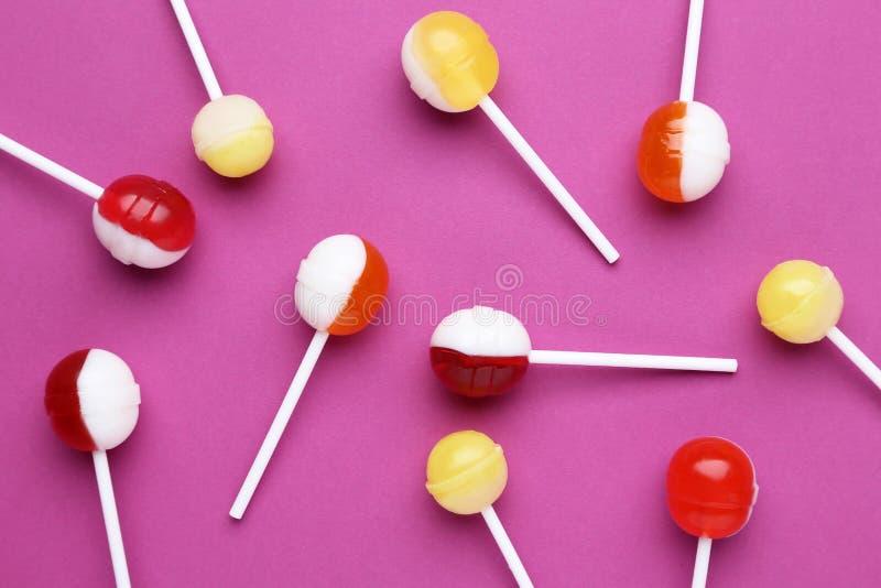Lollipops doces fotos de stock royalty free