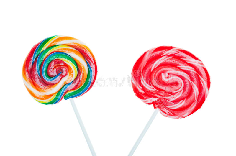 Lollipops dos doces imagem de stock royalty free