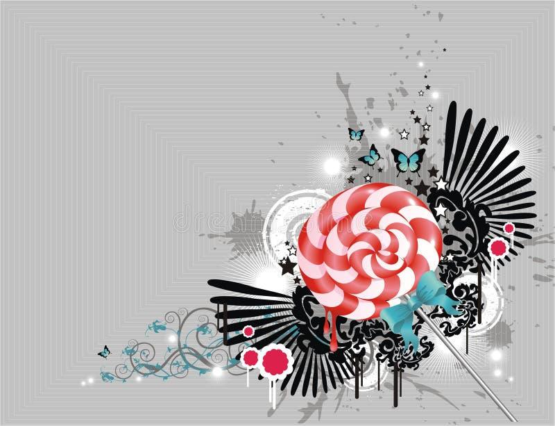 Lolly stock illustratie