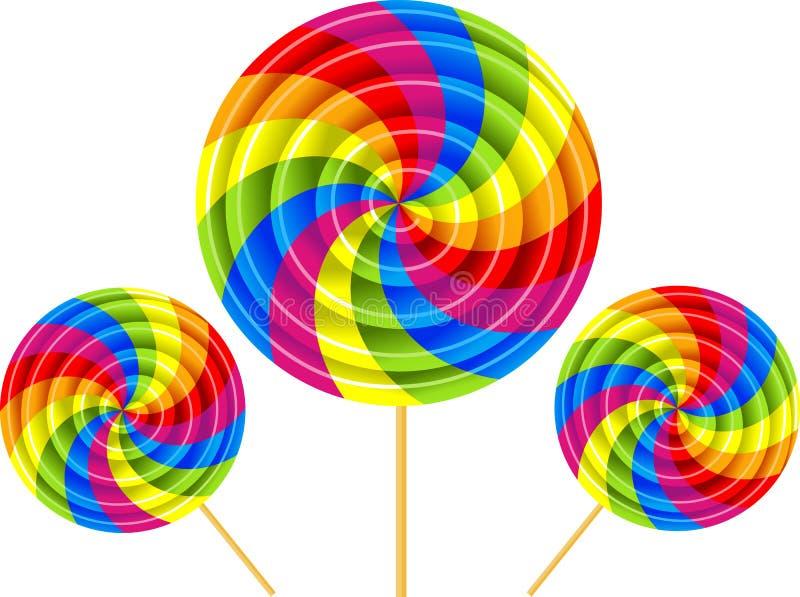 Download Lolly vector illustratie. Illustratie bestaande uit illustratie - 9589210