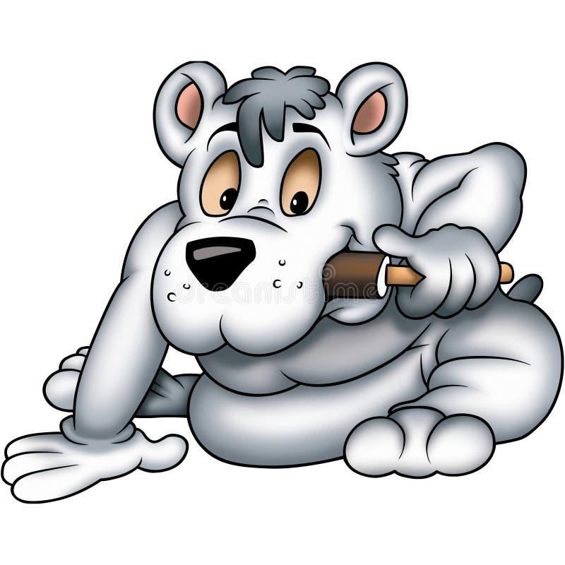 lolly morze lodowe niedźwiedzie ilustracja wektor