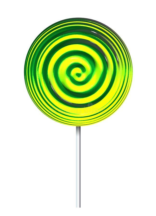 Lollypop stock illustratie
