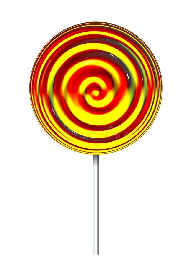 Lollypop royalty-vrije illustratie