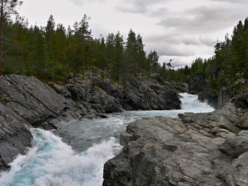 lom-Otta rzeka obraz stock
