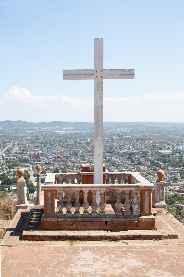 loma de la Cruz,古巴 库存图片