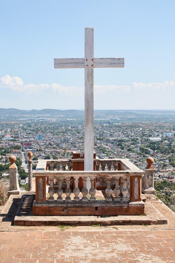 Loma De Los angeles Cruz w Holguin, Kuba obrazy stock