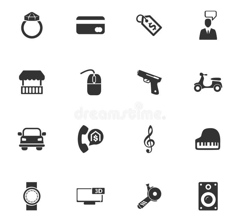 Lombard ikony ustawiać zdjęcia royalty free