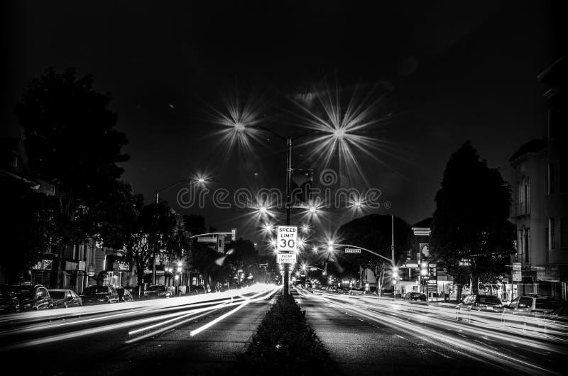 Lombard-Straße 1750 San Francisco stockfotos