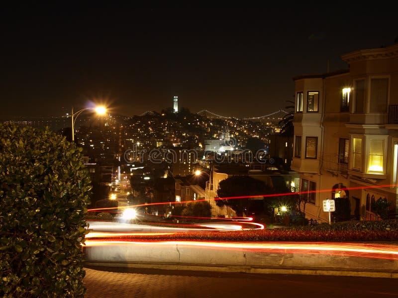 Lombard ulica zdjęcie royalty free