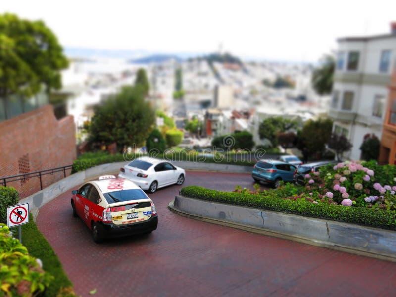 Lombard ulica zdjęcie stock