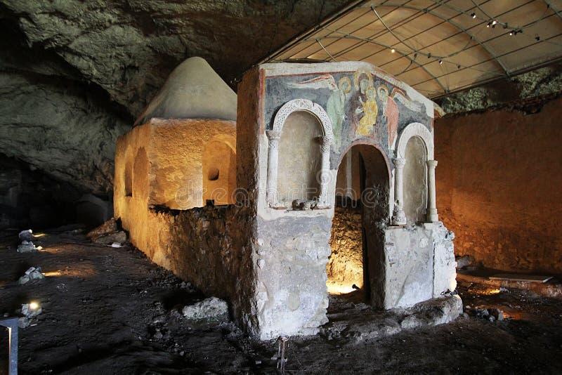 Lombardic教堂 免版税库存图片