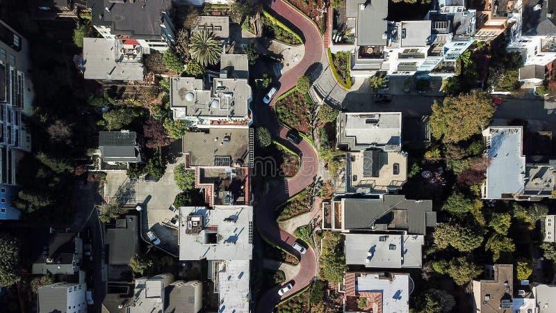 Lombardu San Fransisco uliczny usa fotografia royalty free