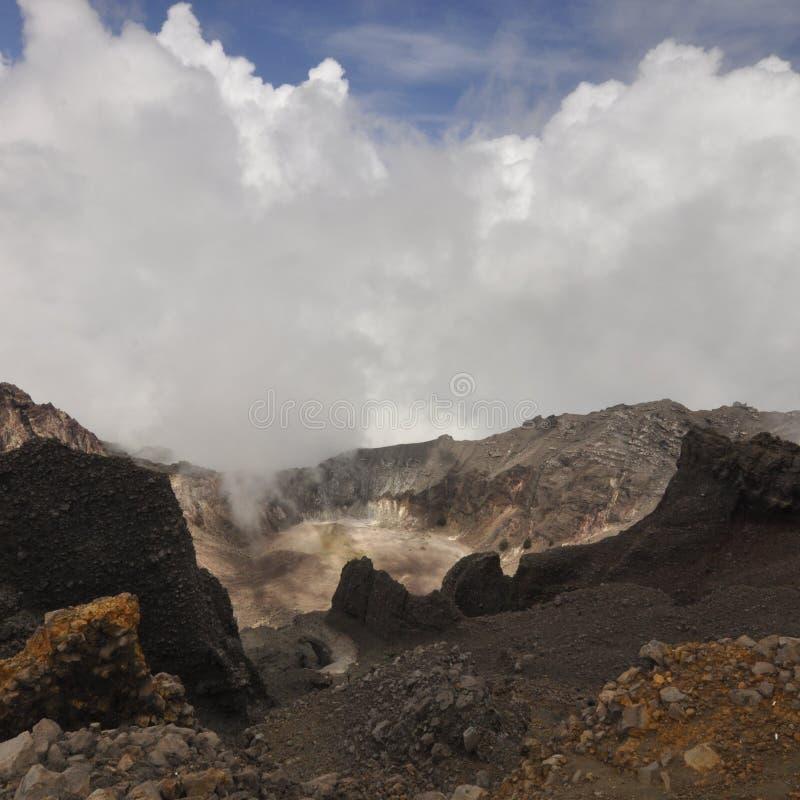 Lombok Indonésie de Rinjani photo stock