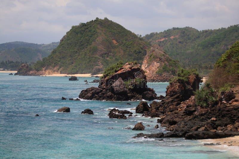 Lombok island (Indonesia) stock image