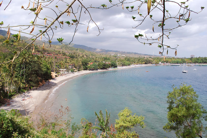 Lombok tropical beach royalty free stock photography