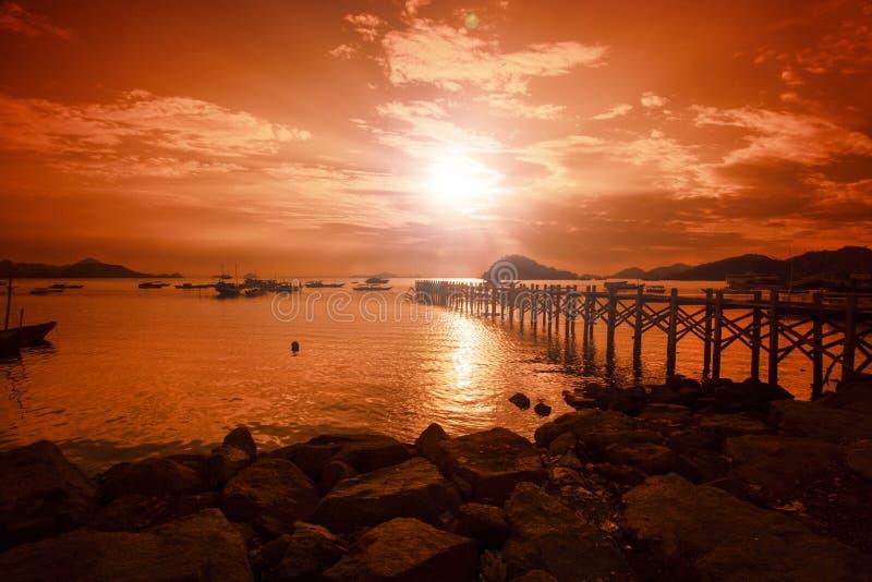 Download Lomboklandschap stock foto. Afbeelding bestaande uit romantisch - 54077054