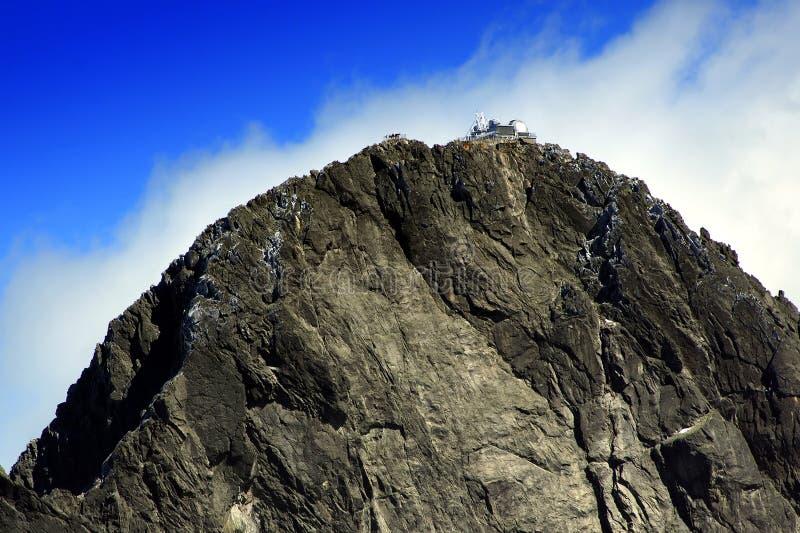 lomnicky szczytu top Slovakia obserwatorium fotografia royalty free