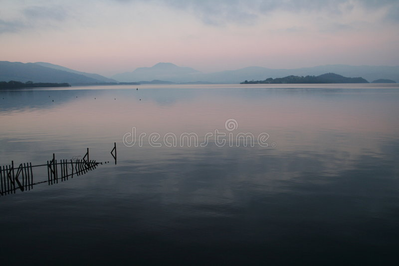 Lomond in the evening royalty free stock photos