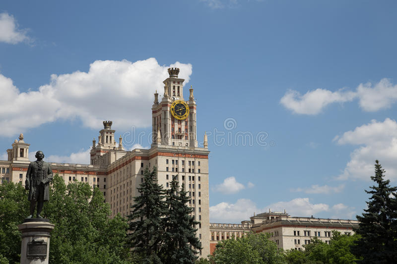 Download Lomonosov Moscow State University, Main Building, Russia Stock Image - Image: 31929197