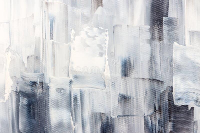 Lona artística com cursos preto e branco da escova fotos de stock