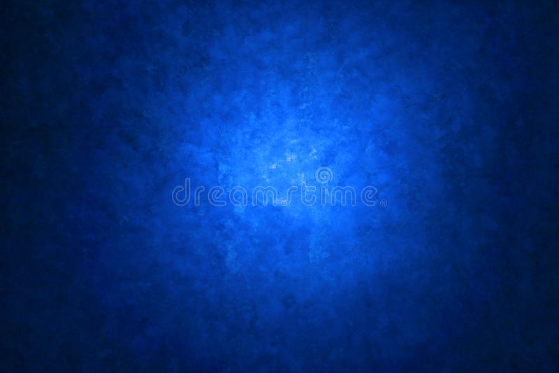 Lona Azul Fundo Pintado Foto de Stock