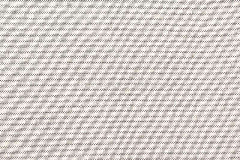 Lona branca do quadro completo ou textura de linho ilustração do vetor