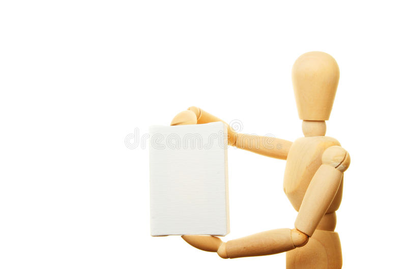 Lona del maniquí foto de archivo libre de regalías