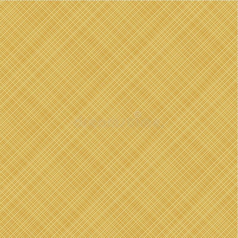 Lona diagonal do weave, teste padrão sem emenda incluído ilustração do vetor