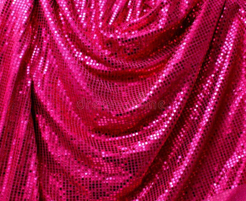 Lona dobrada do glitter do disco imagem de stock