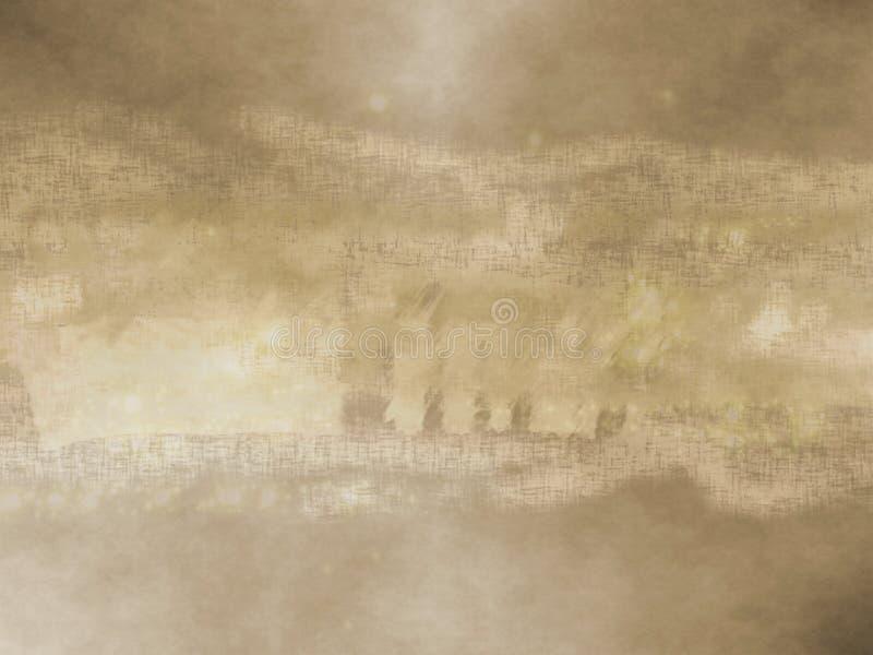 Lona genérica de Grunge stock de ilustración