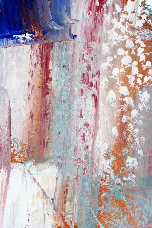 Lona pintada como o fundo. ilustração stock