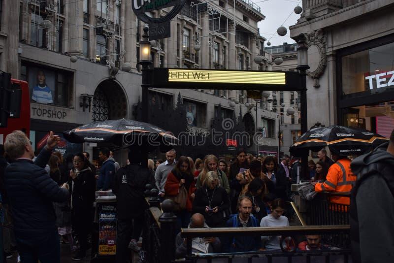 In Londen royalty-vrije stock fotografie