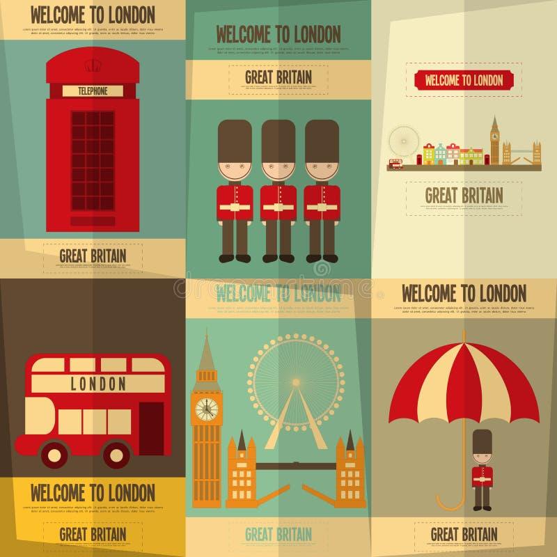 Londen vector illustratie