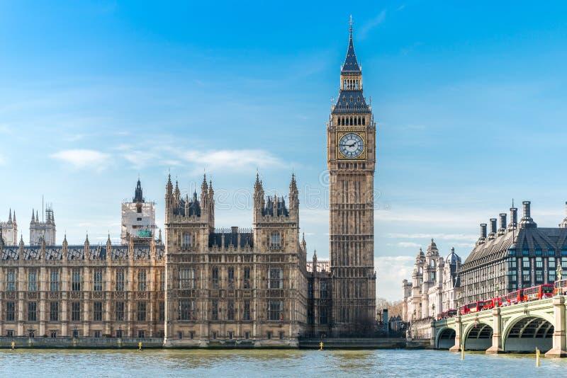 Londen (Big Ben) royalty-vrije stock fotografie