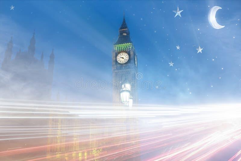 Londen de Big Ben royalty-vrije stock afbeelding