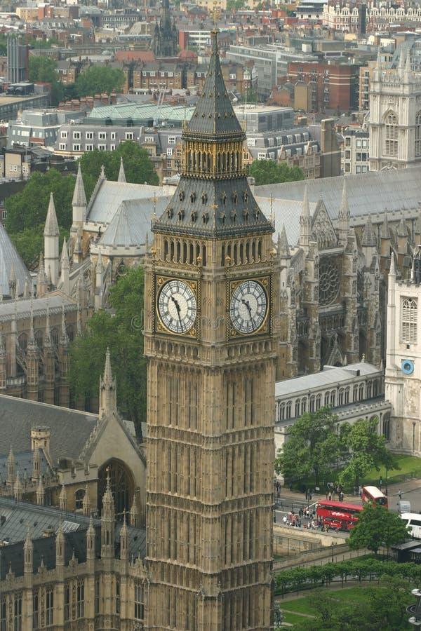 Londen de Big Ben stock afbeelding