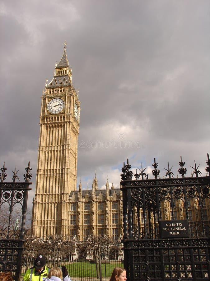 Londen - De Big Ben Stock Foto