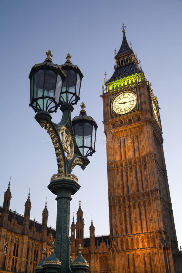 Londen - de Big Ben royalty-vrije stock afbeeldingen