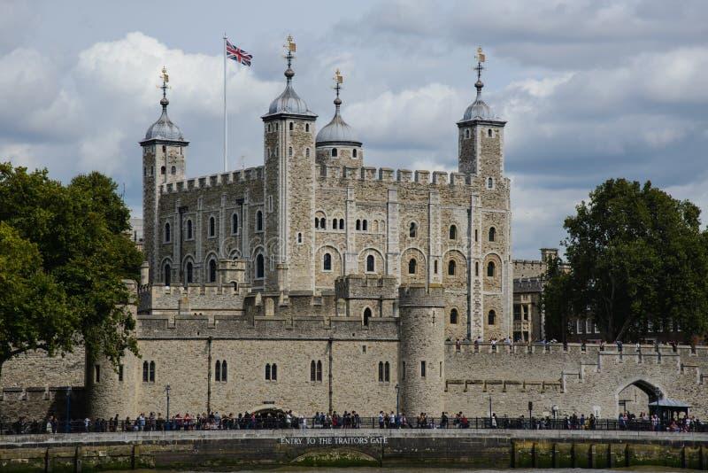 Londen, de toren royalty-vrije stock foto