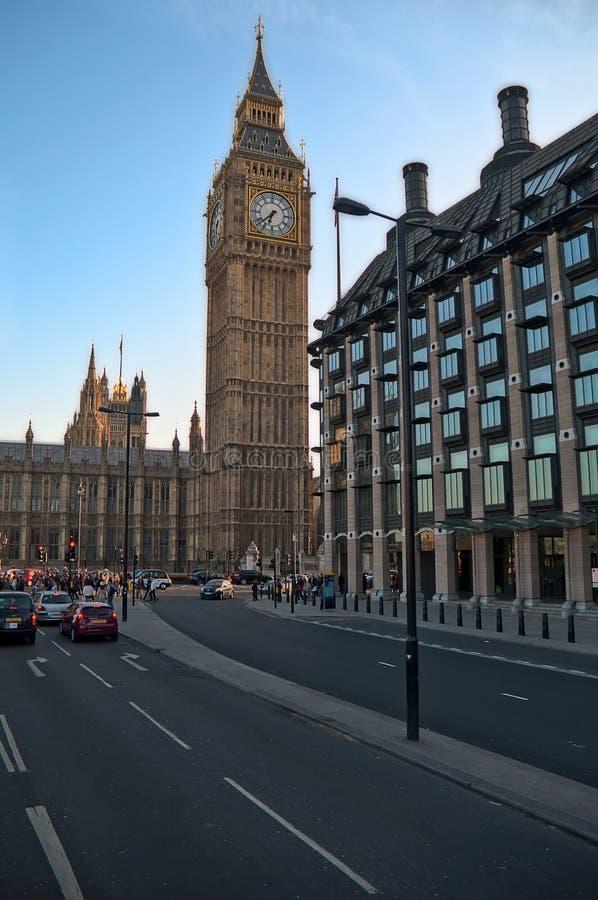 Londen, Engeland. Het Parlement. stock foto's