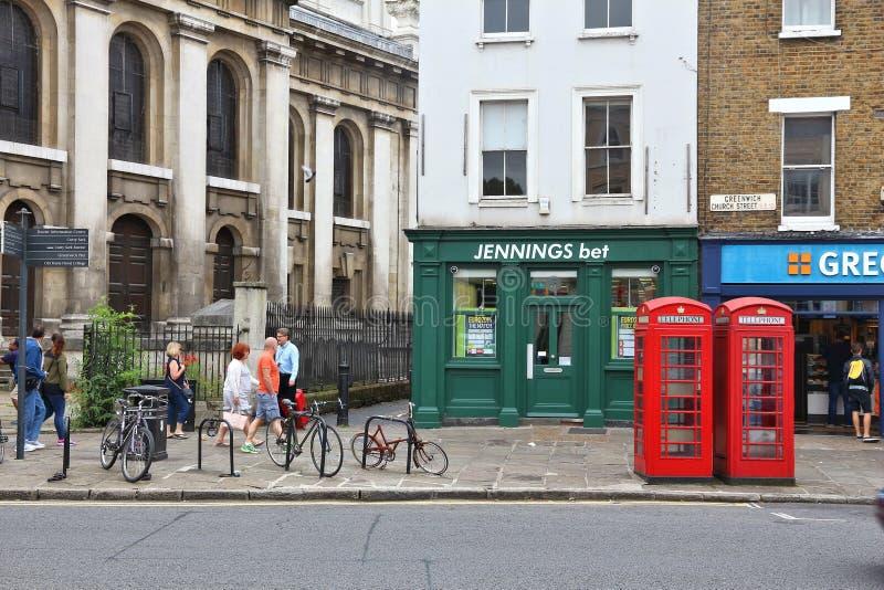 Londen Greenwich stock fotografie