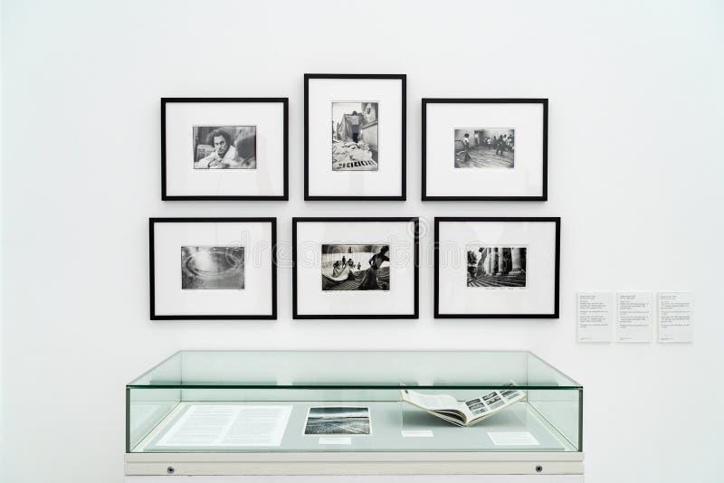 LONDEN, HET UK - 1 APRIL, 2019: Tate Modern in Londen Galerij, Expositie stock afbeelding
