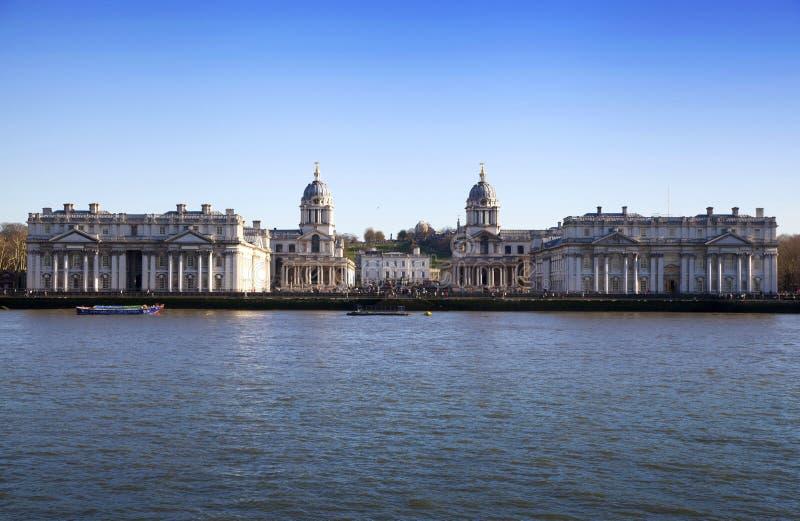 LONDEN, het UK - de mening van MAART Greenwich royalty-vrije stock foto's