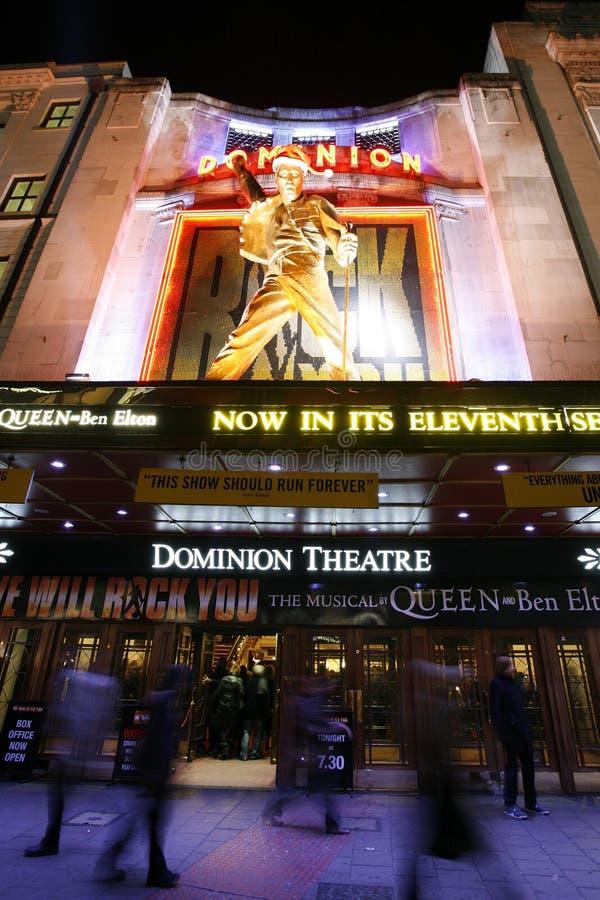 Het Theater van Londen, het Theater van de Heerschappij stock foto's