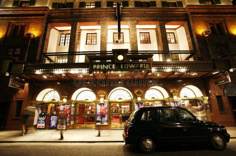 Het Theater van Londen, Prins Edward Theatre stock afbeelding