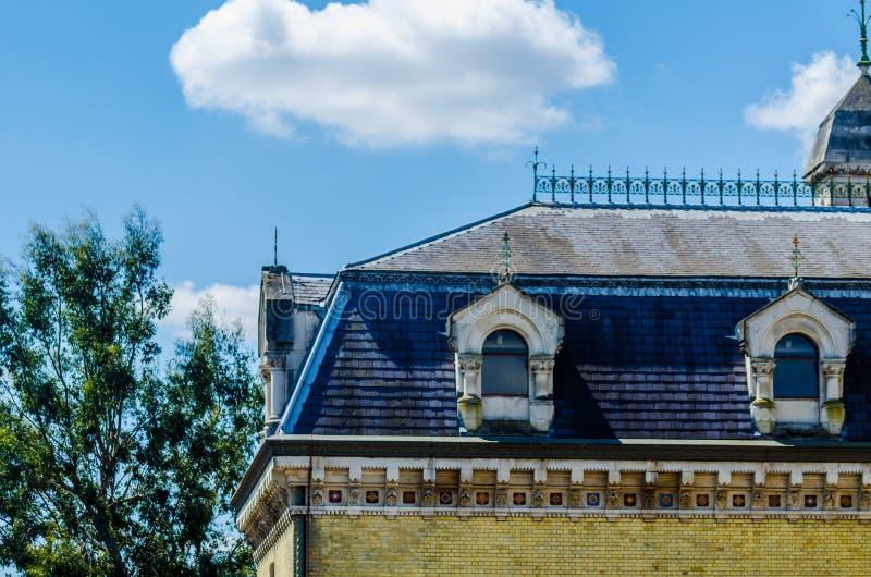 LONDEN, het UK - 21 MEI, de post van Abbey Mills Pumping van 2019, een Victoriaanse openbare waterfaciliteit in Stratford, Oost-L royalty-vrije stock foto